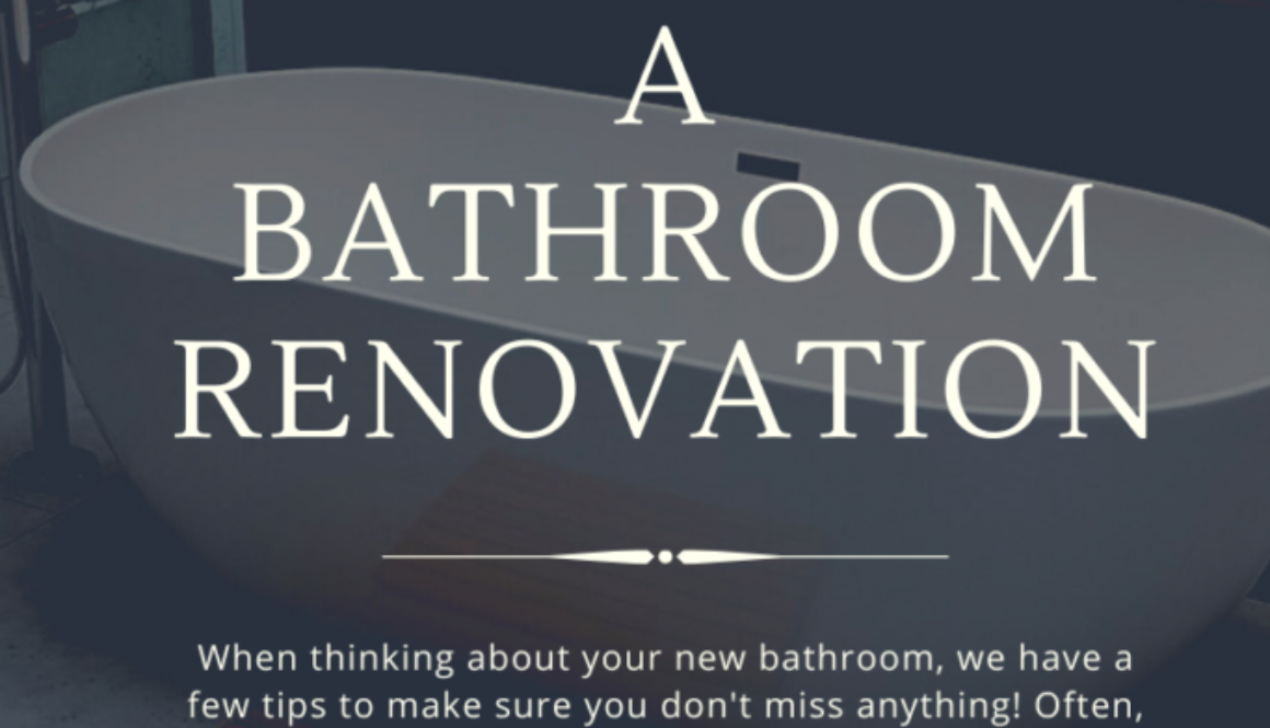 The Do_s and Don_ts for a bathroom renovation